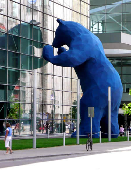Public Art Sculptures Your Kids Will Love (Beans, Blue Bears + Trolls)