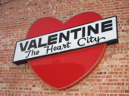Visiting 4 U.S. Cities Named Valentinevalentine city