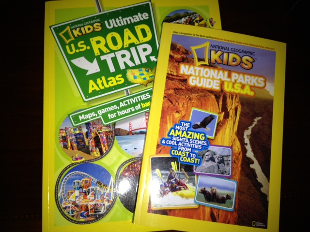 National Geographic Kids Travel Books