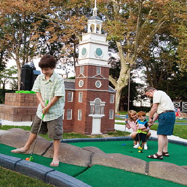 historic mini-golf