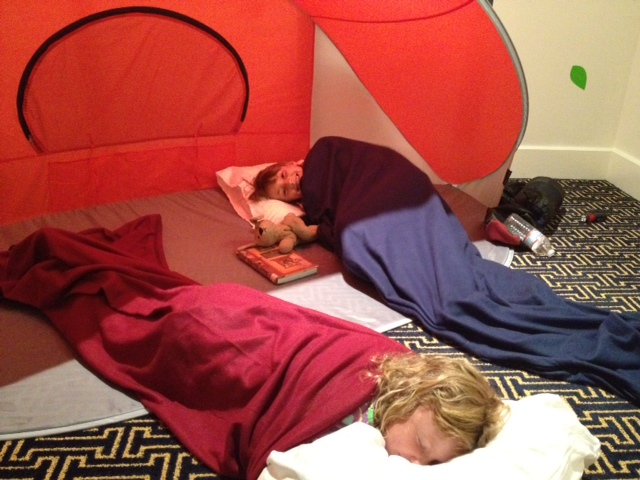 Camping Out at the Hotel Monaco in Baltimore