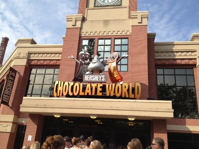 Hershey Park Chocolate World Tours