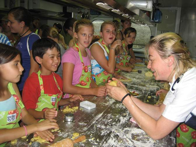 Kids Learning to Make Strudel