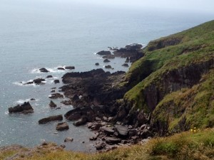 View from the Ballycotton Cliff Walk