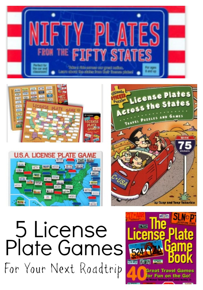 License Plate Games