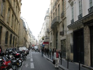 Our Street in Paris