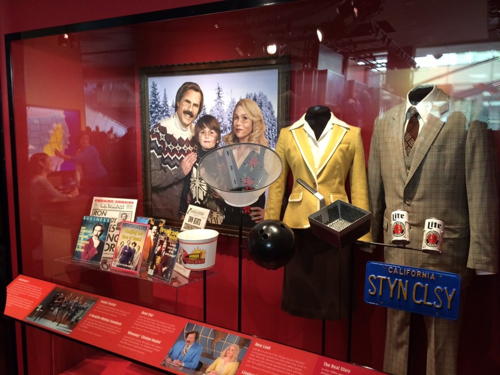 The Exhibit Features Props from the Movie.