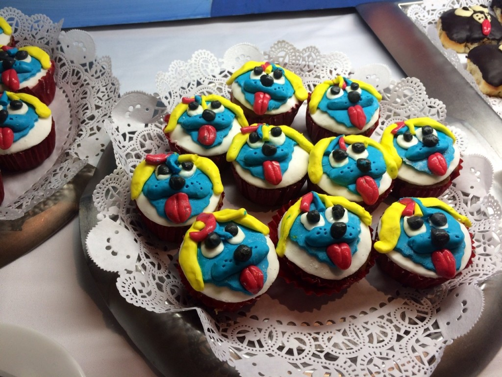 Raggs Cupcakes at Wednesday's Character Breakfast.