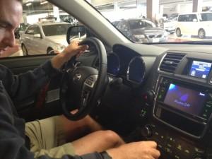 Heading Out in the Toyota Highlander RAV4
