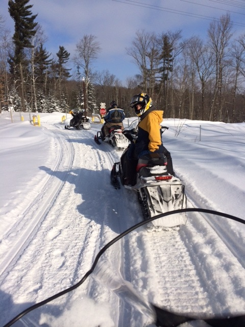 Go for a Ride on a Snowmobile.