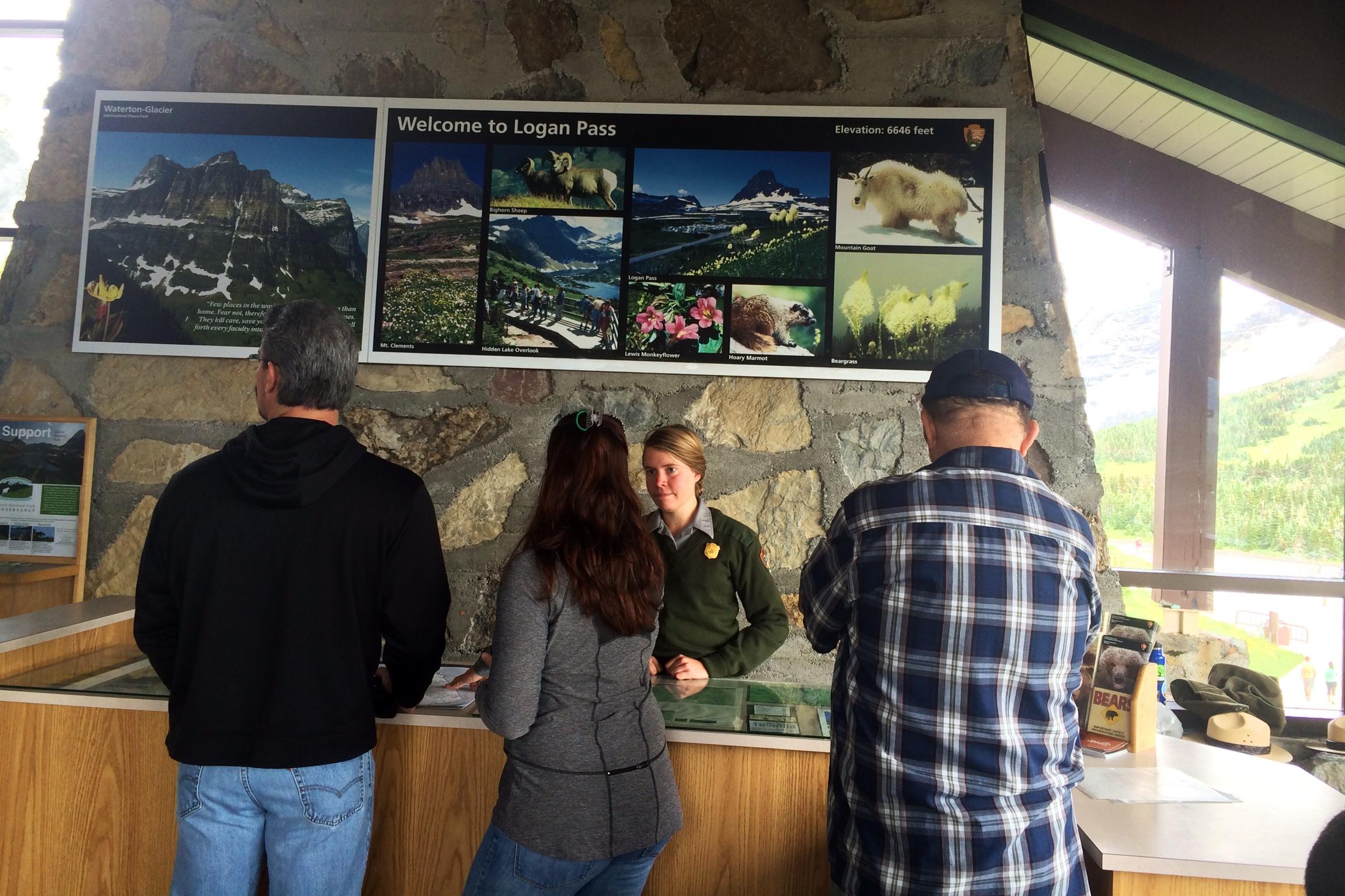 Logan Pass Visitors Center