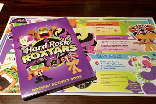 hard rock roxtars-activity book