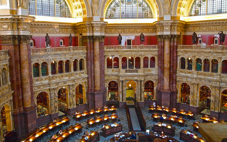 library of congress-main reading room