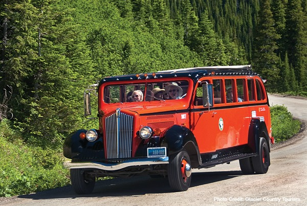 Red Bus Tour-Glacier National Park