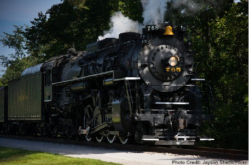 cuyahoga valley scenic train ride