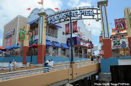 galveston texas pleasure pier