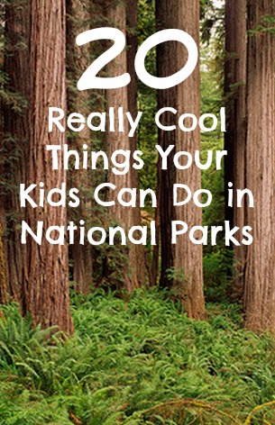 Things Your Kids Can Do in National Parks