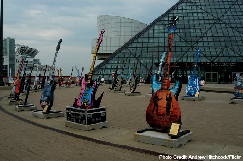 rock and roll hall of fame - cleveland