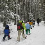 snowshoeing tour