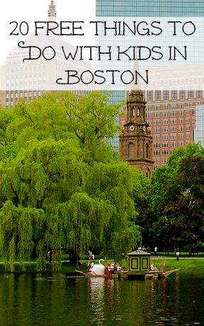 Things to Do With Kids in Boston