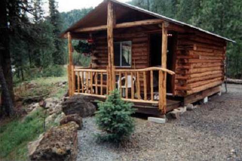 log cabin idaho