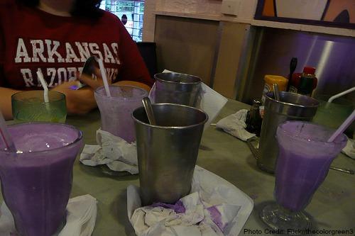 Arkansas-Purple Vanilla Milkshake