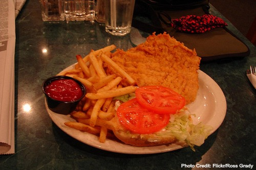 Indiana-Breaded Pork Tenderloin