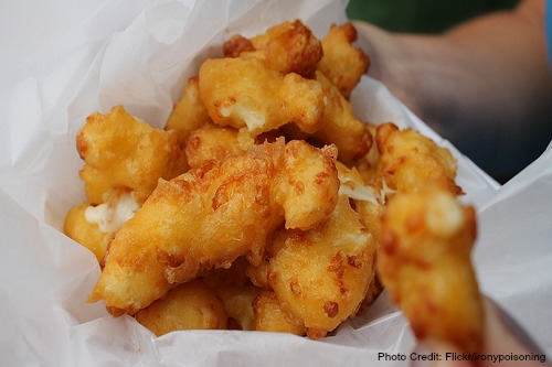 Wisconsin-Cheese Curds