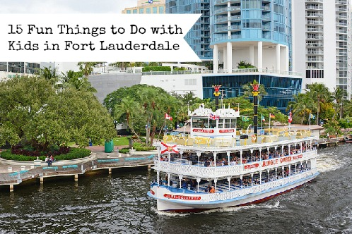 Things to Do With Kids in Fort Lauderdale