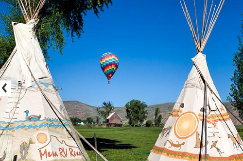 Mesa Campground-Teepees