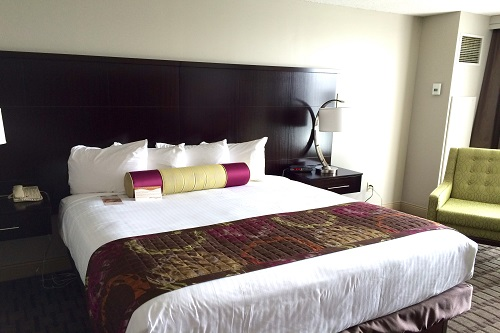 ...and a king-size bed at The Chattanoogan for me. Heaven.