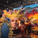 The one-hour guided tour at Mardi Gras World was a great way to learn more about the celebration and how the parade floats are made.