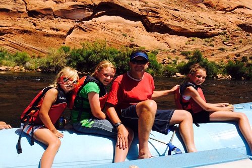 rafting the canyon