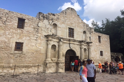 I wish I could have spent more time at the Alamo, but the kids were ready to move on.