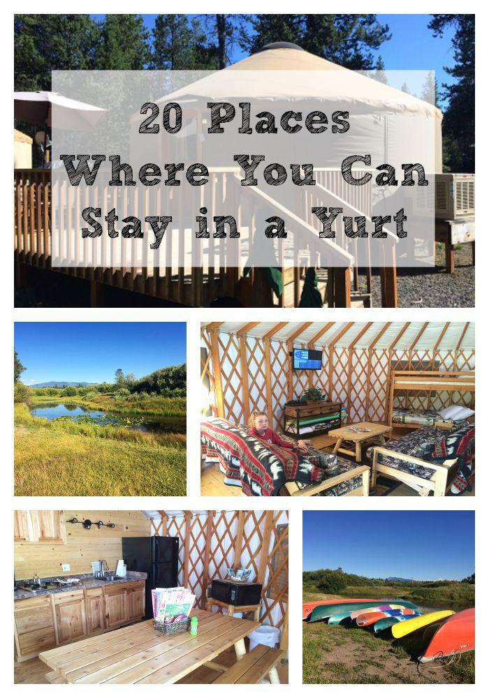 yurt collage