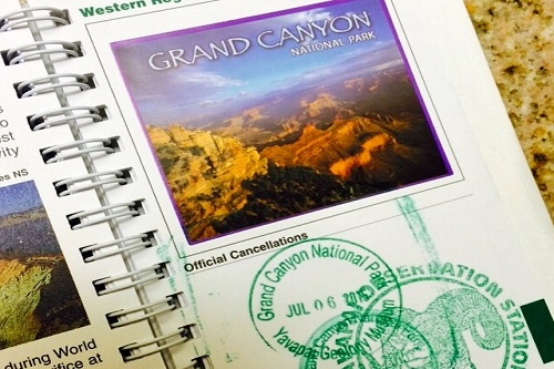 We loved getting new stamps in our Passport to the National Parks.