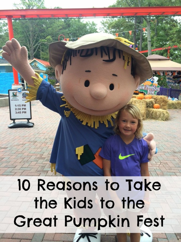 10 Reasons to Take the Kids to the Great Pumpkin Fest
