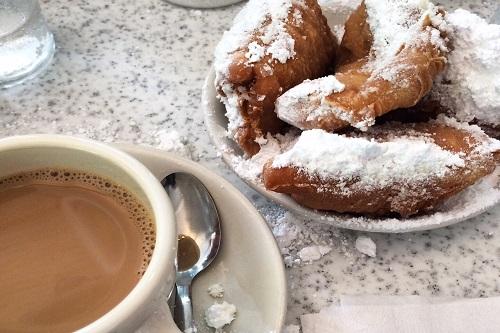 New Orleans-Cafe du Monde