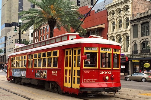 New Orleans-Canal Street Streetcar