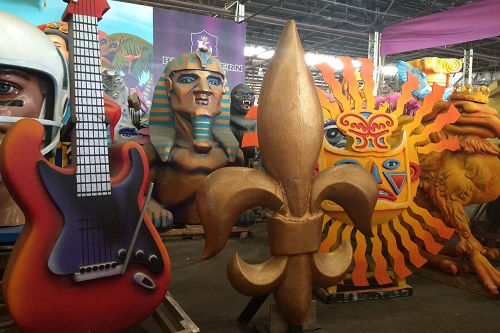 New Orleans-Mardi Gras World