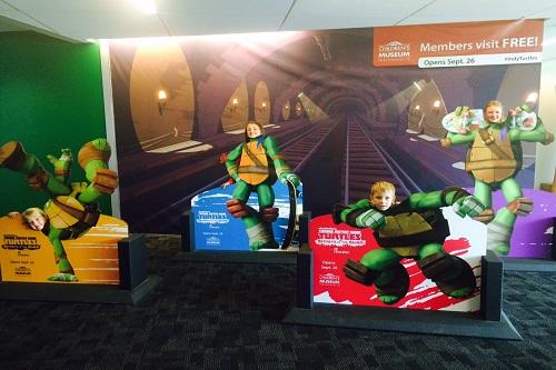 childrens museum-teenage mutant ninja turtles