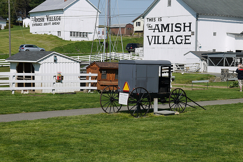 lancaster - amish village