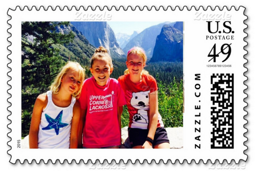 photo-girls postage stamp