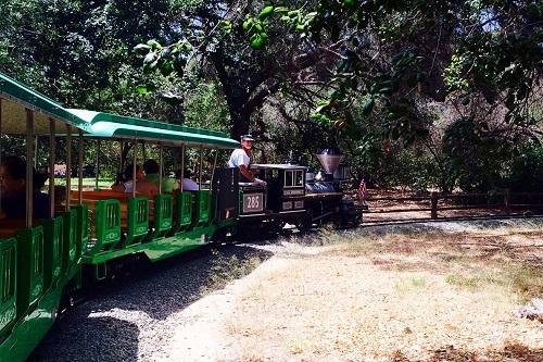 Irvine-Irvine Park Railroad