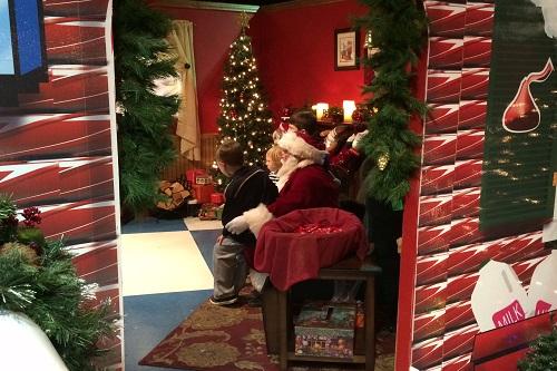 HP-Visit with Santa