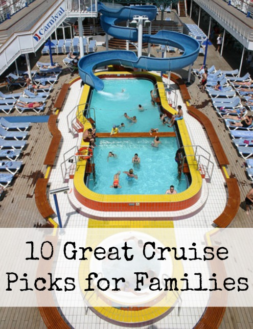 10 Great Cruise Picks for Families