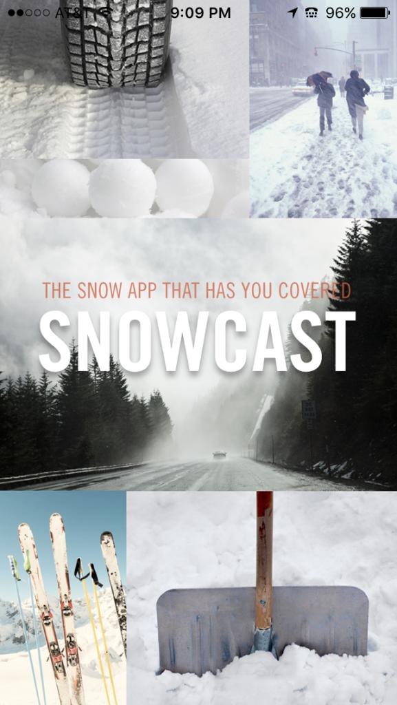 SC-SnowCast App