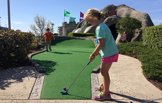 Myrtle Beach is the Mini Golf Capital of the World.