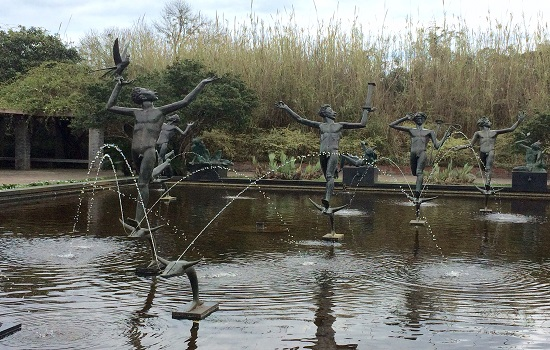The sculpture gardens are incredible at Brookgreen Gardens.