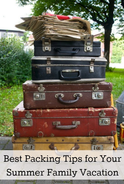 Best Packing Tips for Your Summer Family Vacation